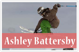 athlete Ashley Battersby