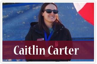 athlete Caitlin Carter