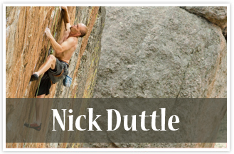 athlete Nick Duttle Rock climber