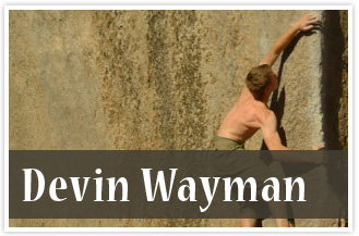athlete Devin Wayman Rock Climber