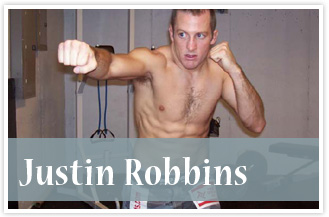 athlete Justin Robbins