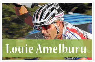 athlete Louie Amelburu Mountain Biker