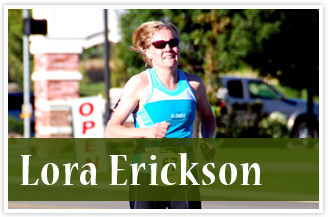 athlete Lora Erickson