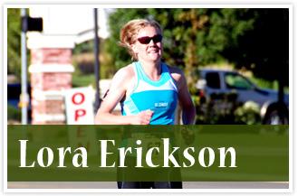 athlete Lora Erickson
