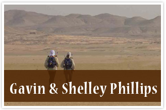 athletes Gavin & Shelley Phillips