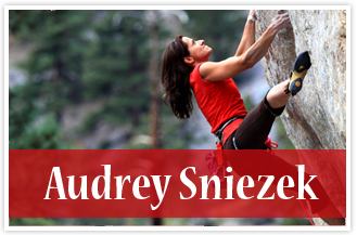 athlete Audrey Sniezek Rock Climber