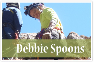 athlete Debbie Spoons
